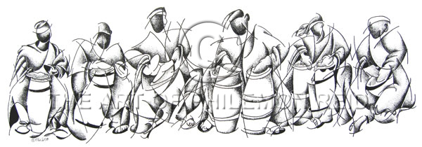we-be-drummingbw